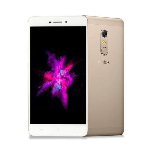 tp-link neffos x1max, smartphone, 5.5 android 7.0, dorado
