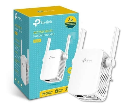 tp-link re205 ac750 extender wi fi (repetidor inalámbrico)