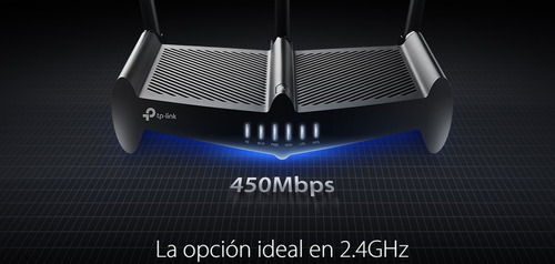 tp-link router alta potencia 450 mbps rompemuros tl-wr941hp