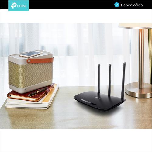 tp-link, router wifi repetidor avanzado n 450mbps, tl-wr940n