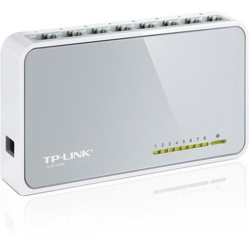 tp-link, switch de escritorio 8 puertos 10/100, tl-sf1008d