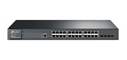 tp-link switch gestionado lte ghz de 24 puertos