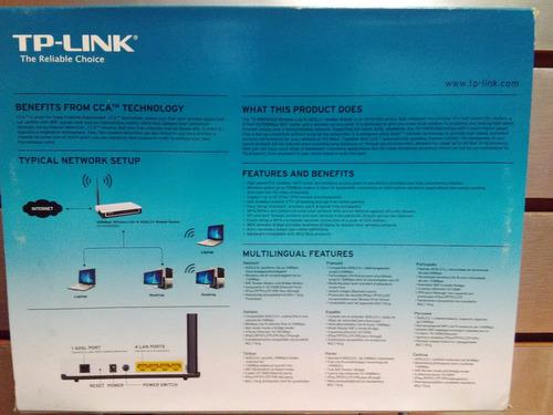 tp-link td-w8950nd, modem router 15 mbps