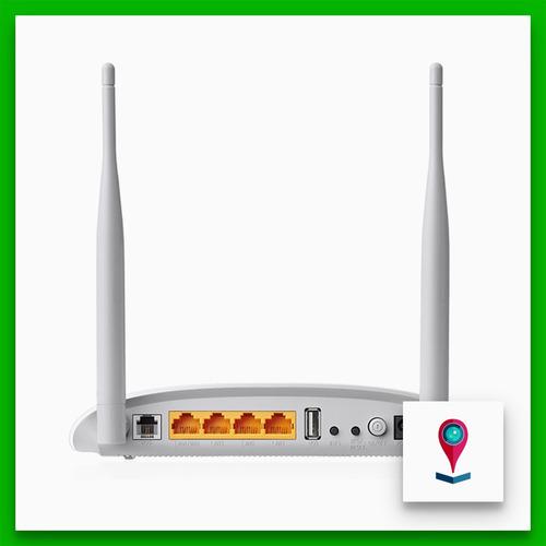 tp-link td-w9970 módem router inalámbrico vdsl2 usb n 300mbp