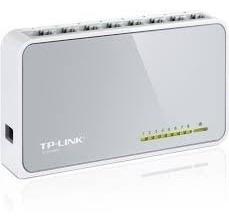 tp link tl-sf1008d switch de 8 puertos 10/100 sobremesa