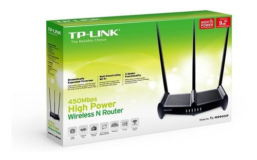 tp link tl-wr941hp router wi fi alta potencia rompe muros