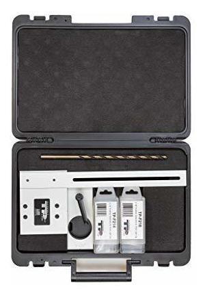 tp-plj puck light jig kit, 2-1 8 y 2-1 4 brocas forstner con