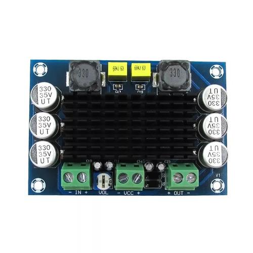 tpa3116 amplificador 100w mono rms 2ohm 8-24v 2a