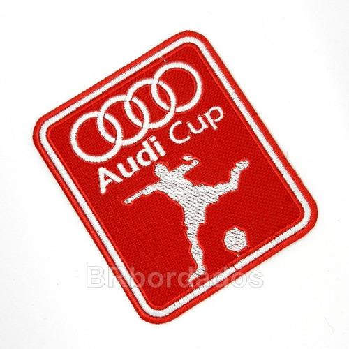 tpc153 audi cup internacional são paul patch bordado 7x8,5cm