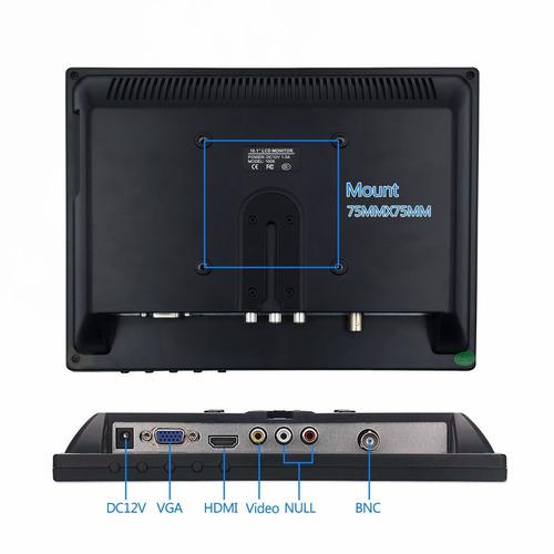 tpekka 10 -inchpulgadas 1024x768 tft lcd monitor de video (a
