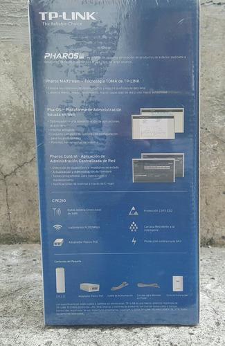 tplink acces point cpe 210 exterior 2.4ghz 300mbps 9dbi