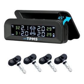 Tpms Sensor De Presión Y Temp. Solar Autos C/sens. Internos