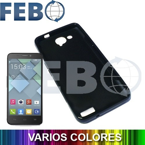 Protector premium funda tpu alcatel one touch idol s 6034 150 00 en mercado libre - Fundas alcatel one touch idol ...