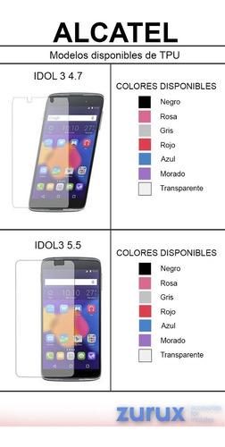 tpu de mayoreo 1000 tpu x 14000 pesos alcatel idol3 4.7 5.5