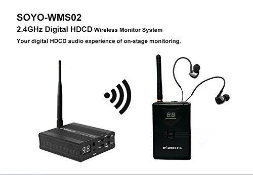 tpwireless sistema monitor audio escenario inalámbrico digit
