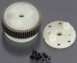 tra2381x diferencial rustler main diff with steel ring gear
