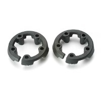 tra5227 traxxas head protector, cooling head (2) (trx 2.5)