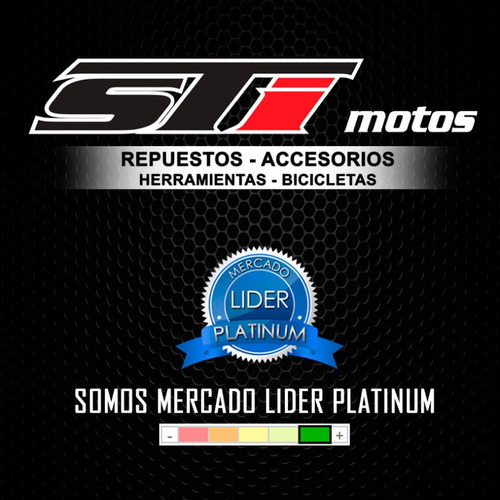 traba disco con alarma 120db on guard 8256 6 mm - sti motos