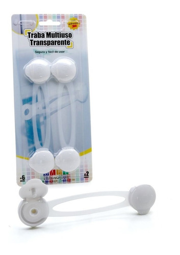 traba multiuso transparente larga - baby innovation