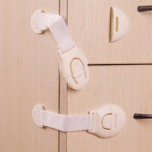 traba puerta bebé kit x10u seguridad armario cajón belluno