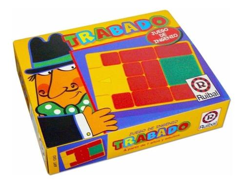 trabado ruibal 1242 juego de ingenio mesa original educando