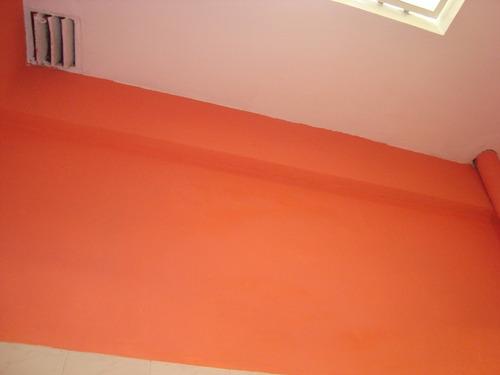 trabajo  de  albañileria pared  abertura carpeta ceramica