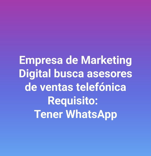 trabajo de marketing digital