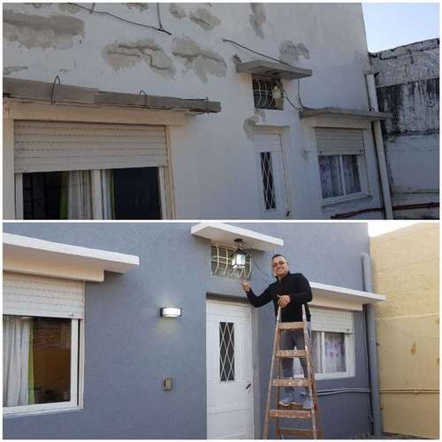 trabajo de pintura en general. aplicación de revestimiento