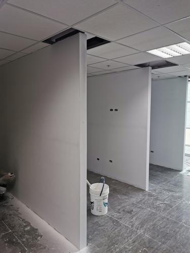 trabajo drywall profesional departamentos cuartos paredes