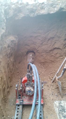 trabajos con maquinas tuneleras
