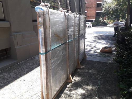 trabajos con soga subir bajar muebles por balcón o terraza