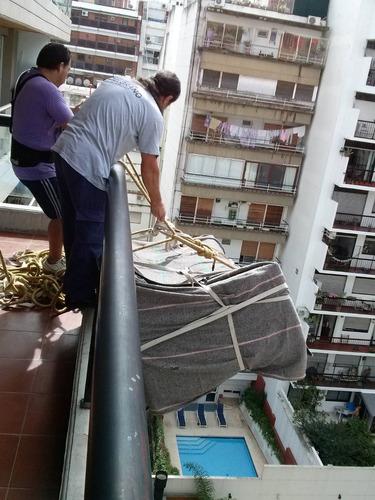 trabajos con sogas x balcon mudaz servicio completo