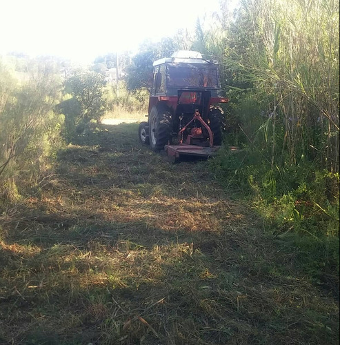 trabajos con tractor alquiler por hora ,exentrica,rotativa