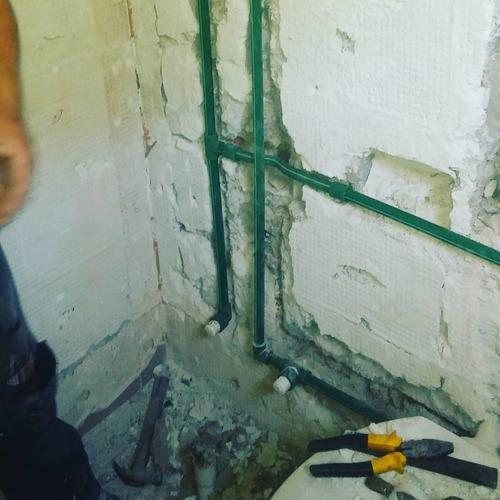 trabajos de albañilería , sanitaria, electricidad , pintura