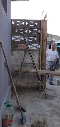 trabajos de albañilería, sanitaria, pintura, herrería etc.