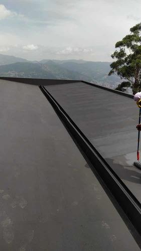 trabajos de construcción e impermeabilización