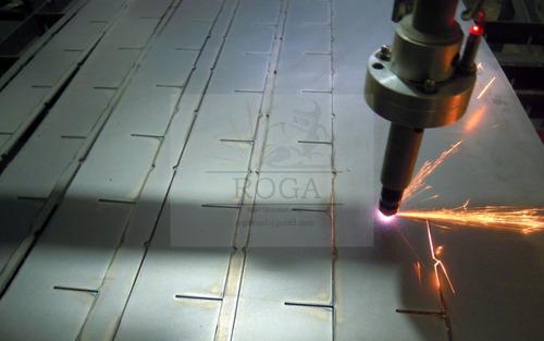 trabajos de corte en plasma de aceros