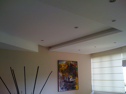 trabajos de drywall y electricidad