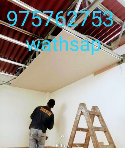 trabajos de drywall y pintura en general