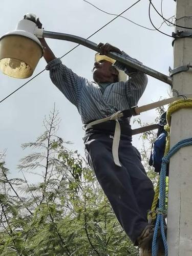 trabajos de electricidad media y baja tensión