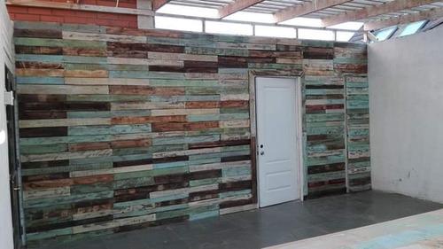 trabajos de muros y muebles en pallets