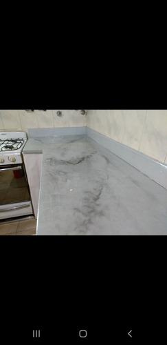 trabajos de porcelanato líquido y pisos 3d