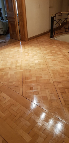 trabajos de pulido y plastificado en pisos parquets