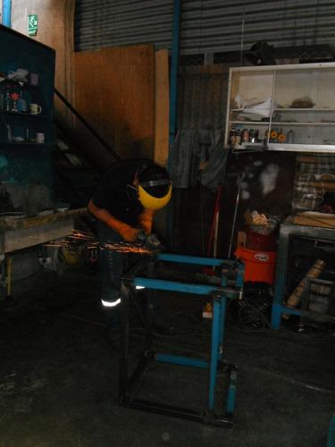trabajos de torno,fresa, soldadura y estructuras metálicas