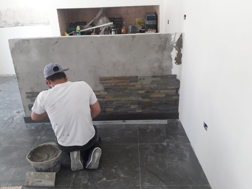 trabajos de yeso y pintura