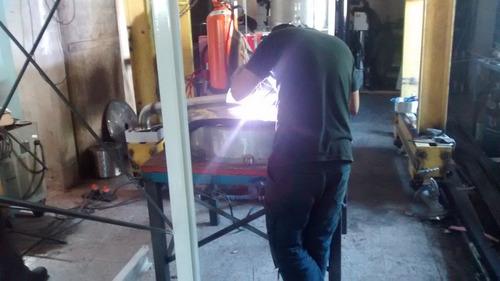 trabajos en acero inoxidable, colectores equipos agitadores