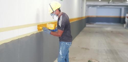 trabajos en altura, caños, fachada, cables, pintura, rescate