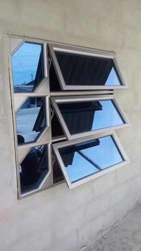 trabajos en aluminio y vidrio templado