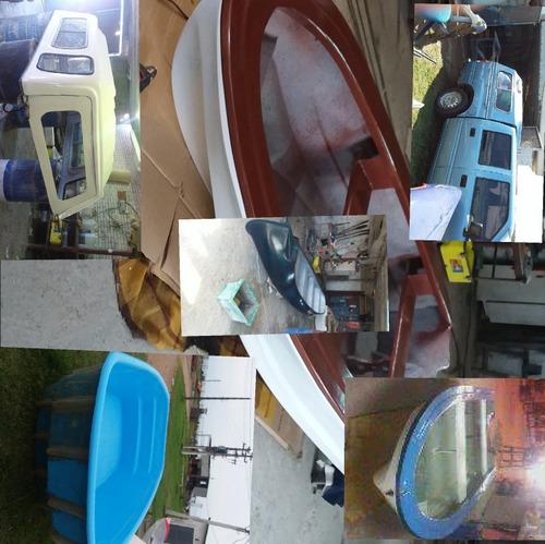 trabajos en fibra de vidrio