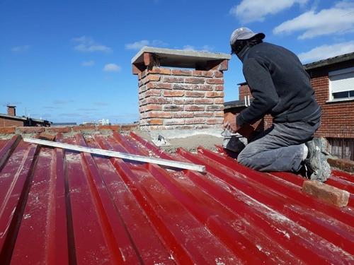 trabajos en herreria vidriera y albañileria
